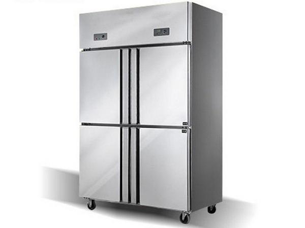 四门双机双温冰箱